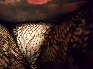 CD Upskirt Fishnet Pantyhose
