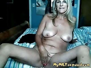 My MILF Exposed Granny rubbing her smooth shaved passy