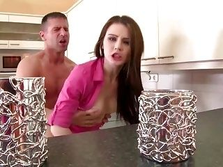 The Neighbors Wife - A Super Horny Timea Bela Fucks in Kitch