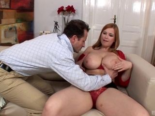 Seduced Big Tits Pornstar Withstanding Double Fucking In Mmf Porn