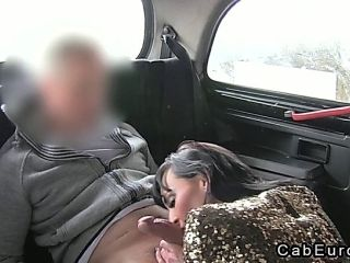 Lady Anal Fucking On Security Cam In Fake Taxi (7)