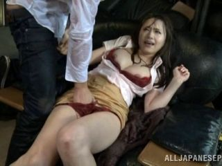 Rainy day sex with a hot Japanese girl in a tight skirt (2)