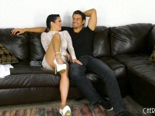 Stunning brunette Veronica Avluv fucked hard by a hot hunk