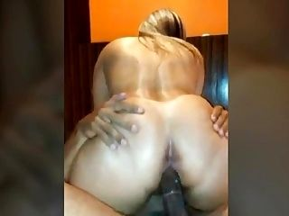 Brazilian Cuckold Wife Rides Young Dick