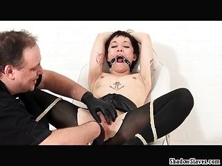 Japanese Pussy Stapling Torture And Extreme Dental Gagged