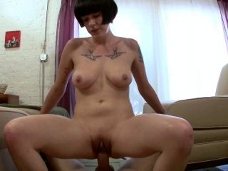Sassy Cowgirl With Big Tits Getting Her Shaved Pussy Nailed In A  Pov Shoot (2)
