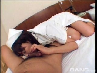 Japanese Chick Wearing An Uniform Is Ready For The Sticky Creampie