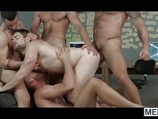 Multiple Horny Gays In Heat Are Having An Anal Fuck Fest (3)