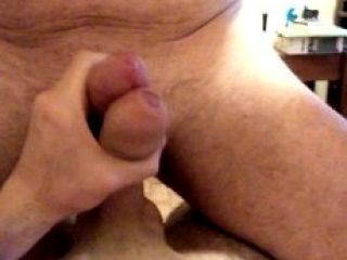 Serbian guy and his italian daddy masturbate together.