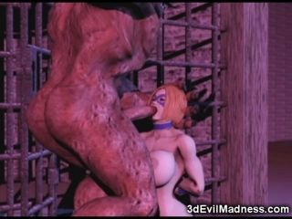 3D Monsters From Hell Destroy Babes! (7)