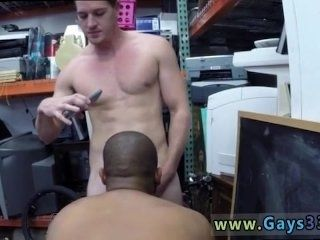 The longest black gay cock Desperate stud does anything for money