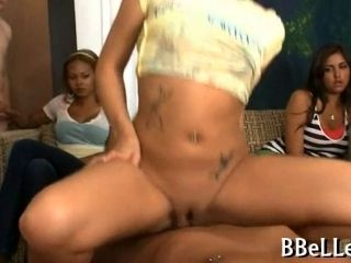 Brandy Belle Starts Off A Cfnm Fuck Party