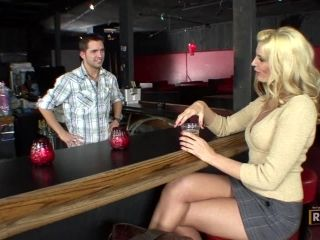 Blondie Orders a Dick at the Bar