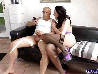 Insatiable Brit Mature Railed Doggystyle (6)