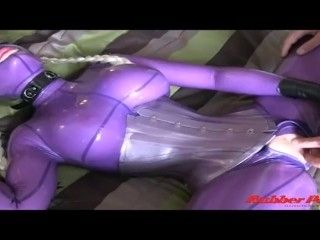 Rubber Tease,Latex Lucy