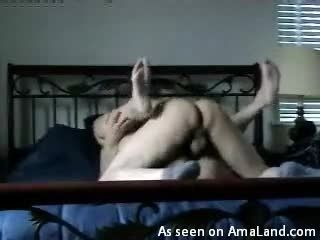 Homemade Video Of A Hot Fucking In Missionary Pose