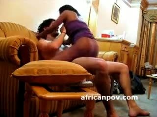 Ethiopian Black Amateur Rides Big Dick On Hidden Camera