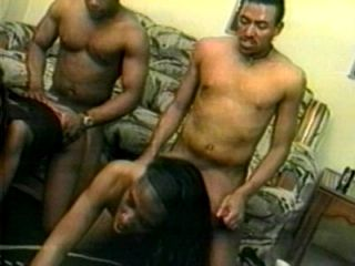 Group of Black horny people fucked together