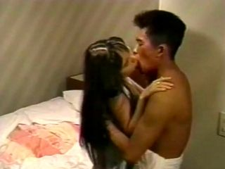 My whimpering young Asian girlfriend gets her opening broke