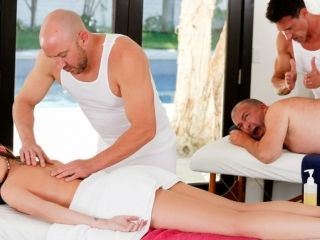 Brooklyn Chase & James Bartholet & Marco Banderas & Will Powers in Training Daddy's Girl Video