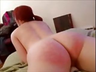 Submissive Redhead In Glasses Extreme Fuck