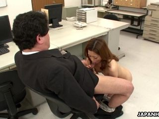 Office Worker Getting Cunt Fucked On The Table (5)