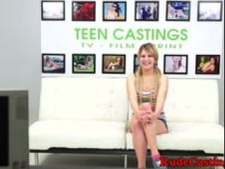 Restrained Babe Hardfucked At Casting (4)